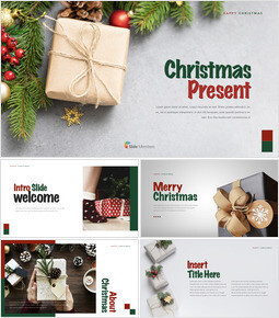 Christmas Present Keynote Templates_00