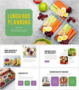 Easy tips for lunch box planning Business plan Templates PPT_00