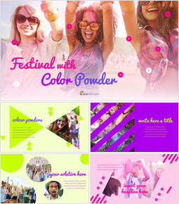 Festival With Colour Powder Google PowerPoint Presentation_00