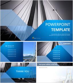 Free Business Google Slides Templates - Bridge Building_00