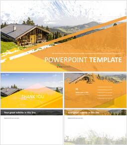 Free Business Google Slides Templates - Log Cabin_00