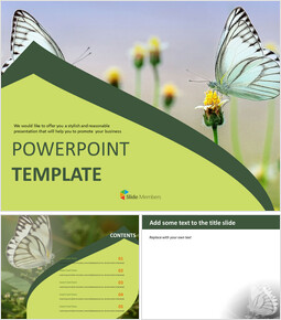 Free Google Slides - Butterfly Theme_00