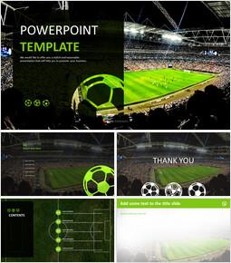Free Google Slides Backgrounds - Soccer Big Match_00
