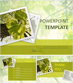 Free Google Slides Template - Green Leaves_00
