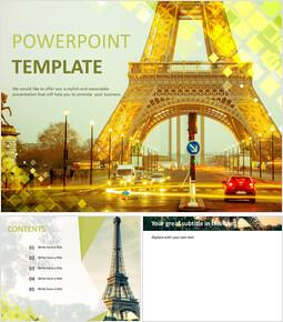 무료 Google 슬라이드 템플릿 - 에펠 탑_00