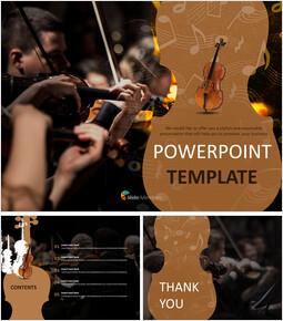 무료 구글 슬라이드 템플릿 디자인 - 바이올린 연주자_00