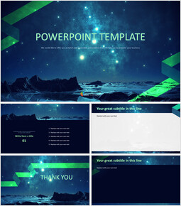 Free Images for Presentations - A Starry Sky_00