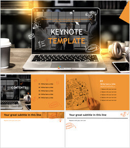 Free Presentation Templates - Business Tasks_00
