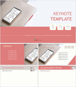 Free Presentation Templates - Project Composition_00