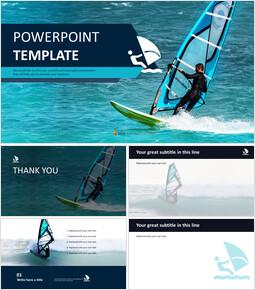 Free Professional Google Slides Templates - Yacht Leisure_00