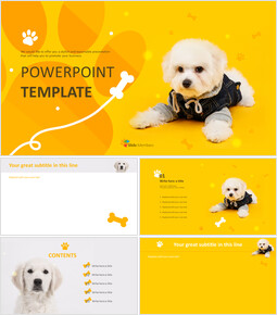 Google Slides Template Free - Dog Clothes_00