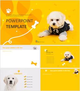 Google Slides Template Free - Dog Clothes_6 slides