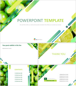 Google Slides Template Free Download - Sour Lime_00