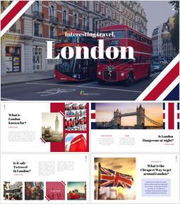 재미있는 여행, 런던 비즈니스 PPT_00