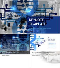 Laboratory - Free Business Keynote Templates_00