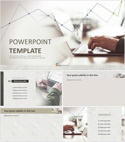 Escritura portátil - Plantilla de presentación gratuita_6 slides