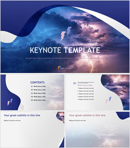 Lightning - Keynote Template Free_00