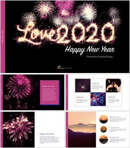 Love 2020 멀티 프레젠테이션 키노트 템플릿_00