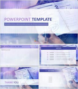 마케팅 분석 - 무료 Google 슬라이드 템플릿 디자인_00