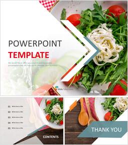마요네즈 샐러드 - 무료 Google 슬라이드 템플릿 디자인_00