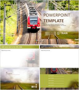 Metro - Google Slides online Free_00