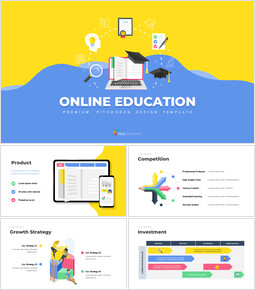 Online Education Service Google Presentation Slides_00