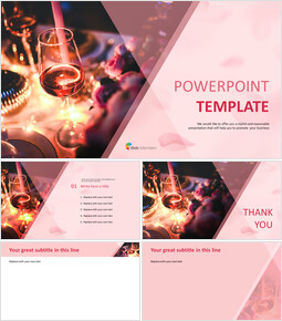 Party with Wines - Free Presentation Template_00