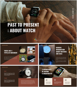 Past to present : About watch Simple Google Templates_00