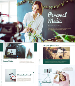 Personal Media Theme PPT Templates_00