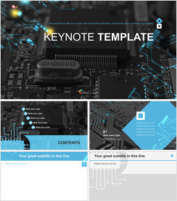 Semiconductor - Free Professional Keynote Templates_00