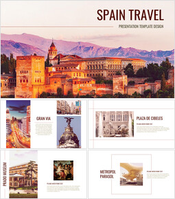 Spain Travel Google Presentation Slides_00
