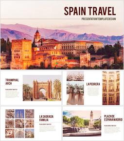 스페인 여행 프리미엄 파워포인트 템플릿_00