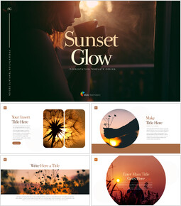 Sunset Glow Outline PPT Presentation_00