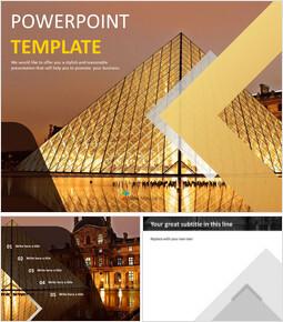 The Louvre Museum - Free Google Slides Template Design_00