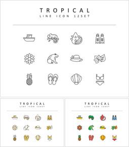 Tropical Icons Set_00