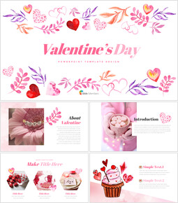 Valentine\'s Day PowerPoint Presentations_40 slides