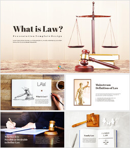 What is Law Simple Presentation Google Slides Template_00
