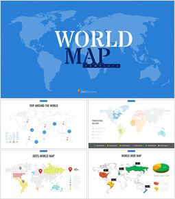 World Map Google Slides Template Design_00