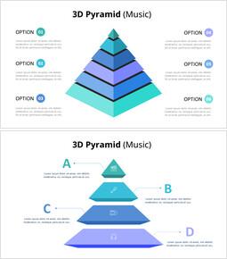3D 피라미드 인포 그래픽 다이어그램 (음악)_00