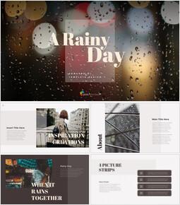 A Rainy Day PPT Model_00