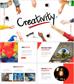 About Creative Presentation PowerPoint Templates Design_40 slides