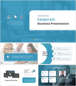 Animated Templates - Corporate Multipurpose Slides PPT Theme_00