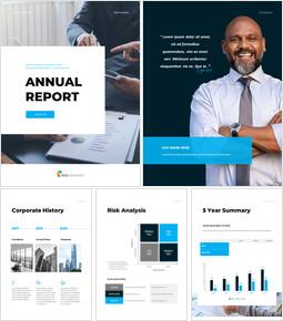 연간 보고서 실행 사업계획 PPT_00