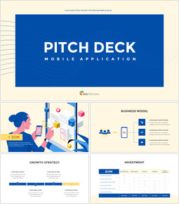 Application Pitch Deck Design Google Slides Presentation_14 slides