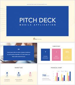 Applicazione Pitch Deck Design Design del keynote_00