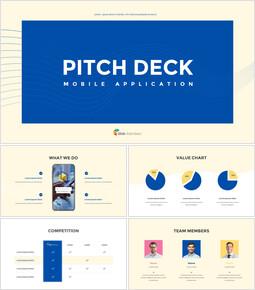 응용 프로그램 피치덱 디자인 마케팅용 프레젠테이션 PPT_00