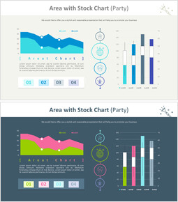 Area with Stock Chart (Party)_00