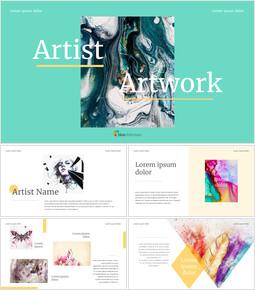 Artist Artwork Custom Google Slides_00
