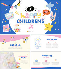 Be Happy Childrens Keynote Templates_00