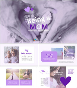 Being a Mom Interactive Google Slides_40 slides